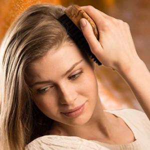 Bürstenmassage für´s Haar